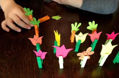 Zabawy ze spinaczami